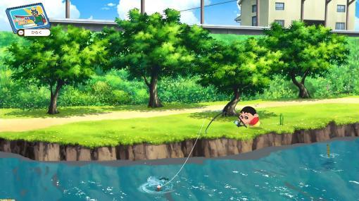 『クレヨンしんちゃん「オラと博士の夏休み」』攻略プレイガイド。虫とりと魚つりのコツや、おこづかい稼ぎの方法などをお届け