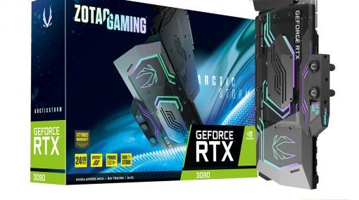 ZOTAC,液冷仕様のRTX 3090搭載カードなど,GeForce RTX 30搭載カード計3製品を本日発売