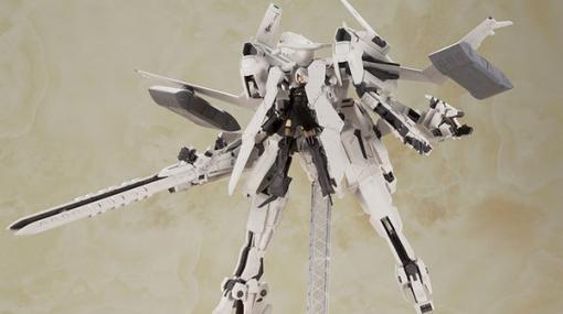 『ニーア オートマタ』飛行形態への変形も! 本格仕様な「飛行ユニット&2B」プラモキットが再販