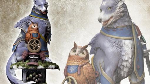 """「モンスターハンターライズ」,大型フィギュア""""オトモガルク""""が2021年11月25日に発売。予約受付を開始"""