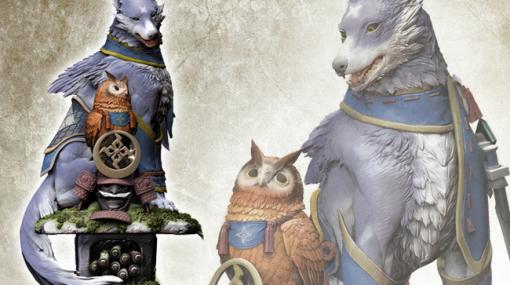 「モンスターハンターライズ」オトモガルクの大型フィギュアが11月25日に発売!イーカプコンなどで予約受付中