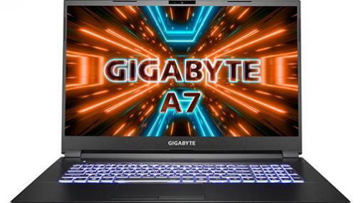 RTX 3070&Ryzen 9 5900HX搭載で税込約25万円の17.3型ゲームノートPCがGIGABYTEから