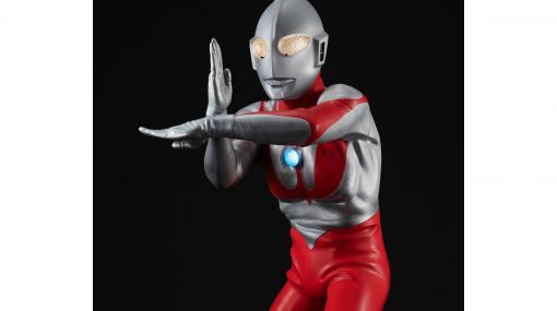 大迫力の40cmスケール『ウルトラマン(Cタイプ)』が限定販売。臨場感を演出するライト&サウンドギミックを搭載