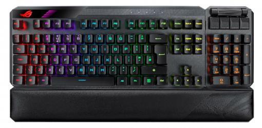 ASUS,着脱式10キーパッド採用のゲーマー向けワイヤレスキーボードとNC機能付きWebカメラを国内発売