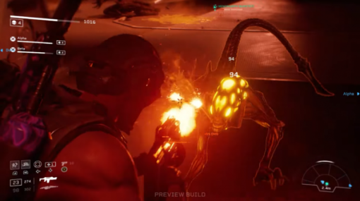 映画「エイリアン」世界の3人Co-opTPS『Aliens: Fireteam Elite』「デモリッシャー」視点の新たなゲームプレイ映像が公開