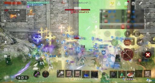「リネージュ2M」の大規模対戦コンテンツ「攻城戦」がついに実装! 血盟同士の争いがアツいキャラクターを強化し、血盟のメンバーを集め、傭兵も含めて戦う総力戦