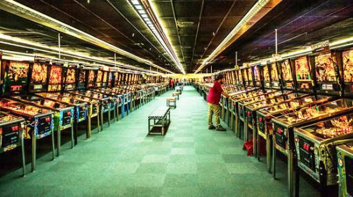 ギネス記録にもなった世界最大級のピンボール博物館「Museum of Pinball」の閉鎖が決定、閉鎖後は大麻栽培施設へ - GIGAZINE