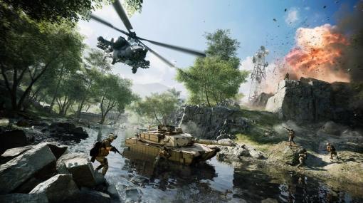 『Battlefield 2042』新機能「バトルフィールド ポータル」発表。『BF3』などシリーズ過去作のコンテンツも組み合わせ、戦場を作成・共有