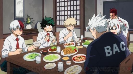 アニメ『ヒロアカ』5期17話はデクと爆豪が轟家で夕食を…!?