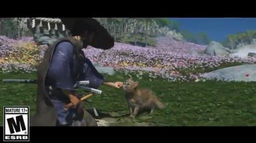 『Ghost of Tsushima Director's Cut』で新たに追加される動物は「猫」、さらに「鹿」「猿」も登場。好きなだけ撫でることが可能