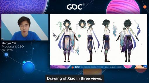 [GDC 2021]「原神」の魅力的なキャラクターと背景グラフィックスはどのように生まれたのか。miHoYoのCEO自ら解説