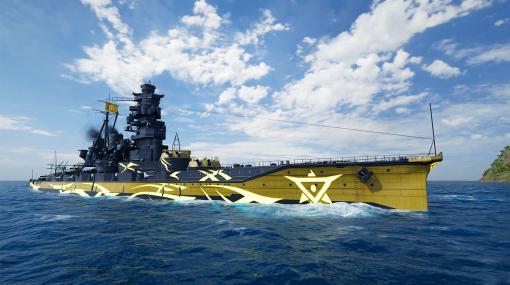 """「World of Warships: Legends」でアップデート3.5が実施。""""蒼き鋼のアルペジオ -アルス・ノヴァ-""""とのコラボも開始"""