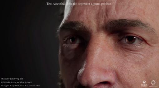 超リアルなグラフィックで毛穴まで見える!『Gears』開発元がUE5を使用した精巧な技術デモを公開
