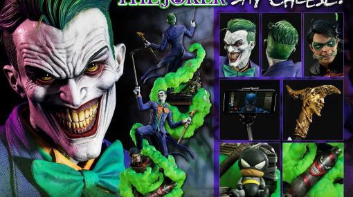 """『バットマン』""""ジョーカー""""の1/3スケール新作フィギュアが登場。狂気とユーモアを存分に感じられる逸品! お値段15万円越"""