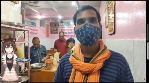 VTuber文野環 インド滞在中のYouTuberと中継を繋ぎ、現地の魅力を紹介 | Mogura VR