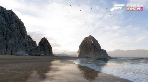 「Forza Horizon 5」,砂漠や海岸,火山など,ゲームに登場するメキシコのさまざまなロケーションが公開