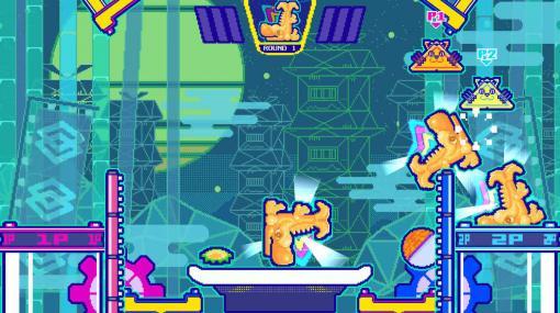 """UFO対戦アクションゲーム『シューフォーズ』体験版が配信中。あらゆるモノを""""シューシュー""""吸いこみ、ゴールに叩き込め"""