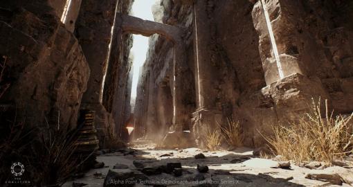 『Gears of War』シリーズ開発元がUnreal Engine 5の技術デモ映像を公開。Xbox実機上で、次世代を感じさせる美しさを表現