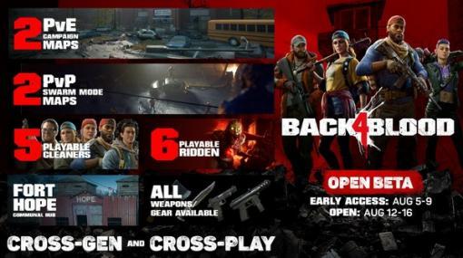 『L4D』開発元新作4人Co-op『Back 4 Blood』開催迫るオープンベータトレイラー公開―協力と対戦どちらもプレイ可能