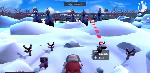 「KeyWe-キーウィ-」PS5のDualSense ワイヤレスコントローラーでのキーウィ達の操作方法が公開に。封筒ランチャーや雪合戦が登場