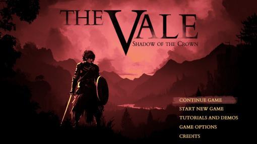 「音」でプレイする本格RPG『The Vale: Shadow of the Crown』8月20日発売へ。目の見えない主人公がパリィで道を切り拓く