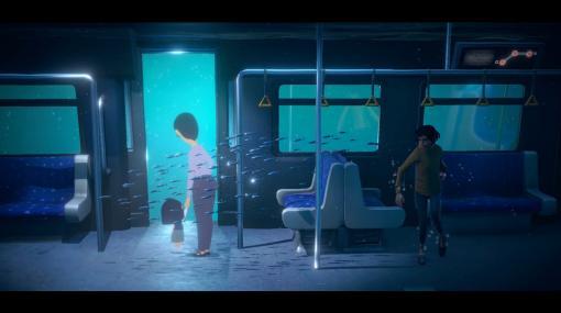 言葉のないアドベンチャーゲーム『A Memoir Blue』発表。水底に沈む記憶を辿り幼き日の母の面影を見る