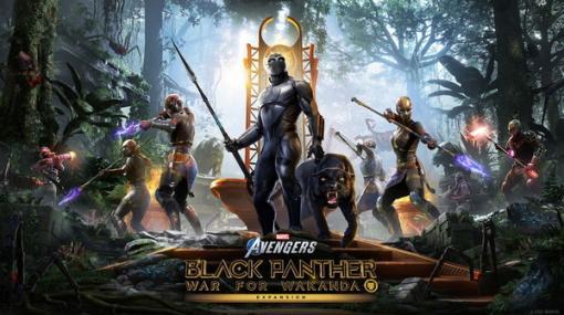 『Marvel's Avengers』ブラックパンサー参戦の新拡張「ワカンダの戦い」が現地時間8月17日に配信!