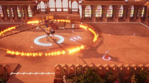 インド神話アクション『ラジィ 古の伝説』8月5日にNintendo Switch/PS4向けに国内発売へ。細密画のごとく広がるきらびやかな神話世界