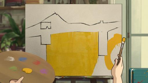 まったり絵画制作パズルADV『Behind the Frame ~とっておきの景色を~』PC/モバイル向け8月25日発売へ。ジブリ作品から発想を得たセル画風