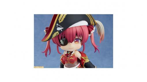 【ホロライブ】宝鐘マリンのねんどろいどが登場。オプションパーツにはドクロくん、海賊帽子、眼帯が付属!