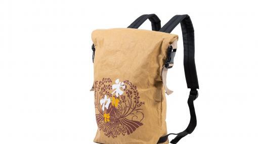 『天穂のサクナヒメ』米袋リュックが本日7/30より受注開始。本物の米袋に使われているクラフト紙を素材として採用