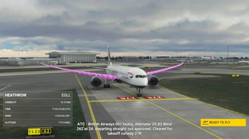"『Microsoft Flight Simulator』最新アプデで特定機体が""ピンク""に染まるバグ発生。サードパーティ製のアドオンが原因か"
