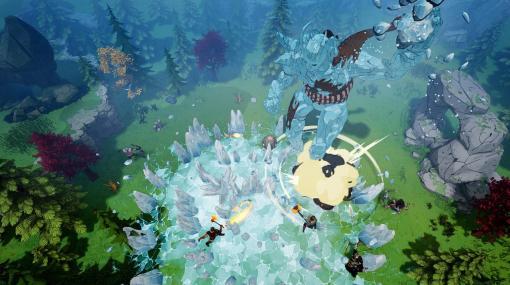 北欧神話サバイバルARPG『Tribes of Midgard』配信開始3日間でプレイヤー数25万人突破。最大10人協力プレイで、巨人の襲来に立ち向かう