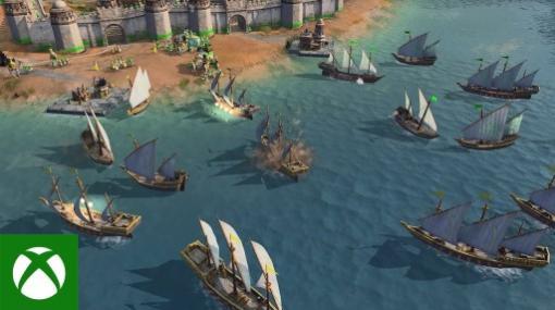「Age of Empires IV」の最新トレイラー2本が公開中。イスラム帝国・アッバース朝と海戦をフィーチャー