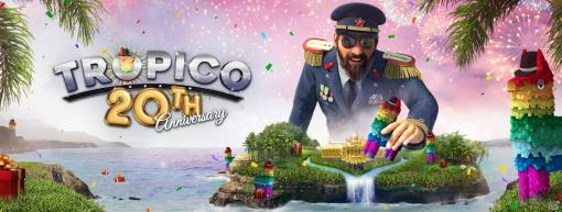 PS4版「トロピコ6」にてシリーズ20周年を祝したインゲームイベントが開催!50%オフのセールも実施中