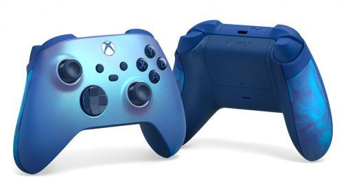 「Xboxワイヤレスコントローラー」に鮮やかな青の「アクアシフト」が登場。9月14日に数量限定発売