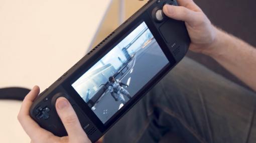 Valve携帯機「Steam Deck」のハンズオンプレビュー映像が続々公開―海外メディア向けに体験会が実施
