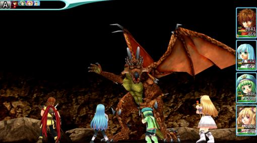 RPG「アルファディア ジェネシス」がPS5向けにリリース