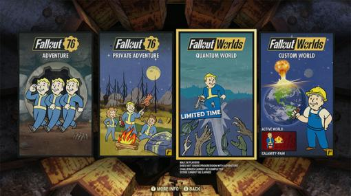 『Fallout 76』カスタマイズ機能「Fallout Worlds」は北米時間9月8日に実装!