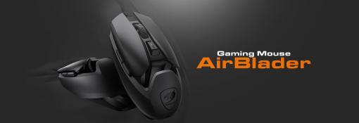 62gの超軽量ゲーミングマウス「COUGAR AirBlader」が8月30日発売カスタマイズ対応の「DualBlader」も同日発売
