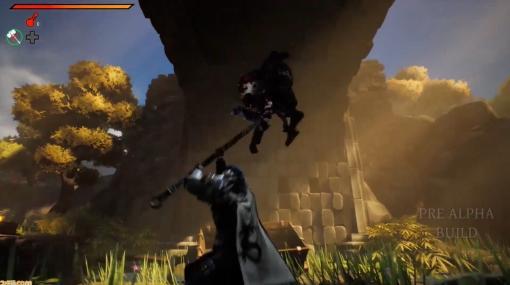 "『Stray Blade』が2022年に発売。オオカミの相棒""ボージ""と旅をするアクションRPG!【gamescom 2021】"