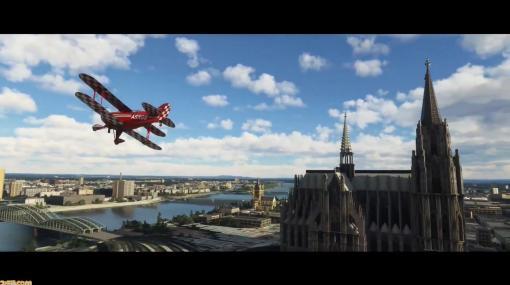 『Microsoft Flight Simulator』世界中のパイロットとレースを楽しめる大型アップデートの実施などが発表!【gamescom 2021】