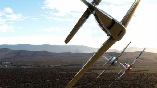 『Microsoft Flight Simulator』対戦レース要素を追加する大型拡張「Reno Air Races」今秋配信!【gamescom 2021】