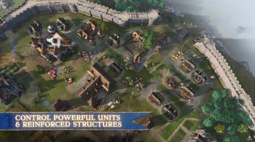 """「Age of Empires IV」のゲームプレイトレイラーが公開。神聖ローマ帝国とルーシ族,キャンペーン""""RISE OF MOSCOW""""の実装が明らかに"""