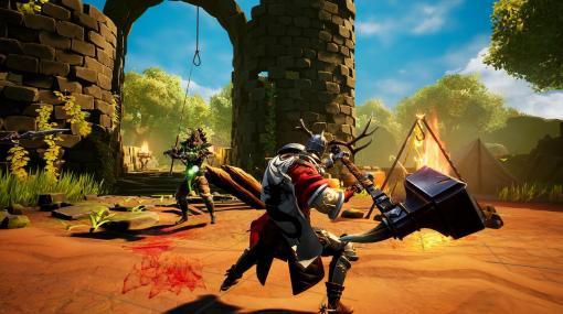 絶えず変化する世界で戦うアクションRPG『Stray Blade』正式発表、日本語対応で発売へ。小さなオオカミの相棒とともに、古代の王に挑め