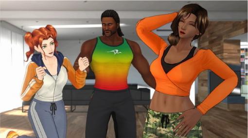 『Fit Boxing』まさかのTVアニメ化!インストラクターの日常描く「キミとフィットボクシング」10月より放送