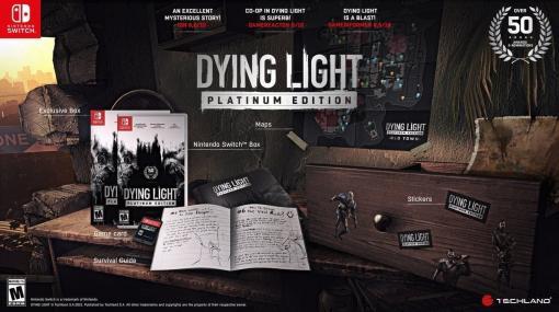 オープンワールド型ゾンビサバイバルゲーム『Dying Light』のNintendo Switch版が海外で発売決定。豪華パッケージ版のリリースも