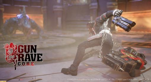 """『GUNGRAVE G.O.R.E』クールなアンチヒーロー""""グレイヴ""""が街のギャングを華麗に倒すシネマティックティーザーが公開"""