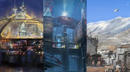 ベセスダ新作RPG『Starfield』3つの都市を紹介する制作舞台裏映像が公開!