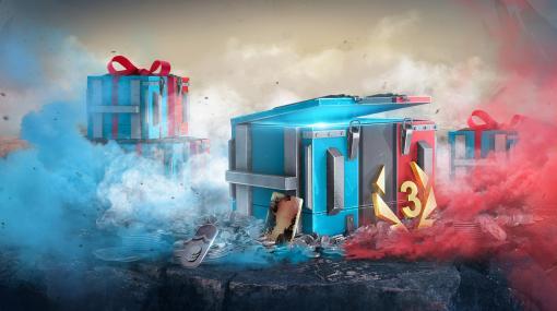 「World of Tanks Blitz」,Switch版1周年記念のプレゼントキャンペーン開催